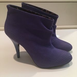 Betsey Johnson Leather Booties